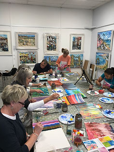 Monday Painting Group