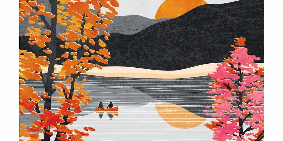 Paint and Sip at Home Art Webinar 'Japanese Landscape'