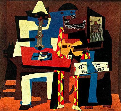 Children's Art Webinar 'Picasso Three Musicians'