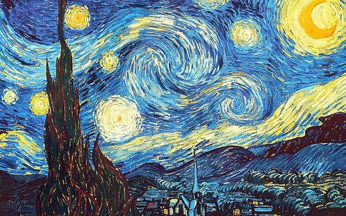 Children's Art Webinar 'Van Gogh Starry Night'
