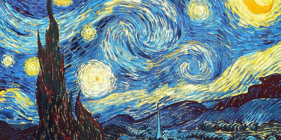 ZOOM RECORDING Children's Art Webinar  'Van Gogh Starry Night'