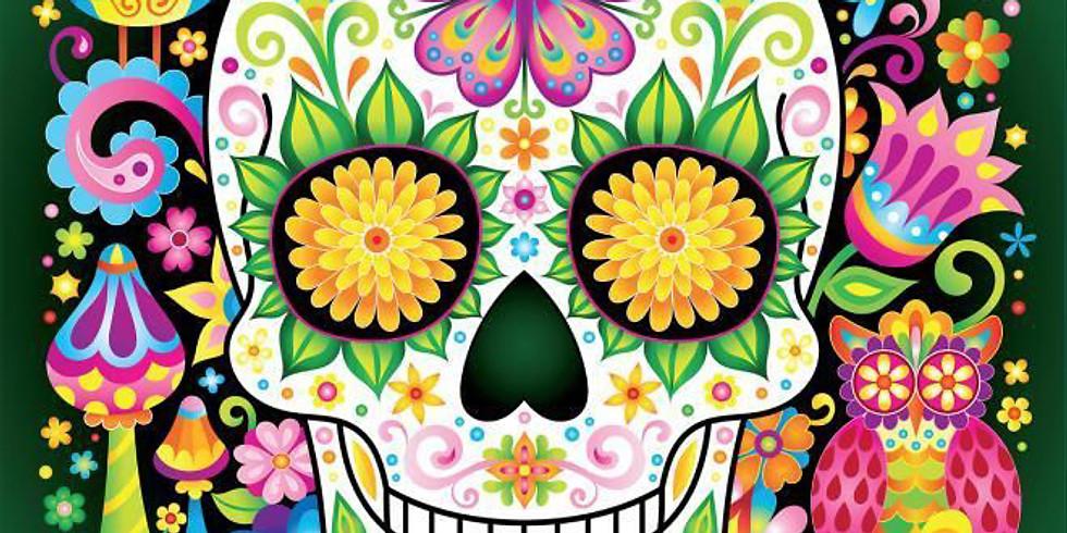 Children's Art Webinar ' Halloween Art- Day of The Dead'