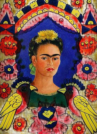 Children's Art Webinar 'Frida Kahlo Portrait'