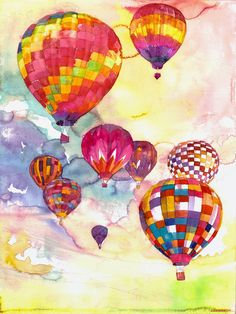 Children's Art Webinar 'Hot Air Balloons'