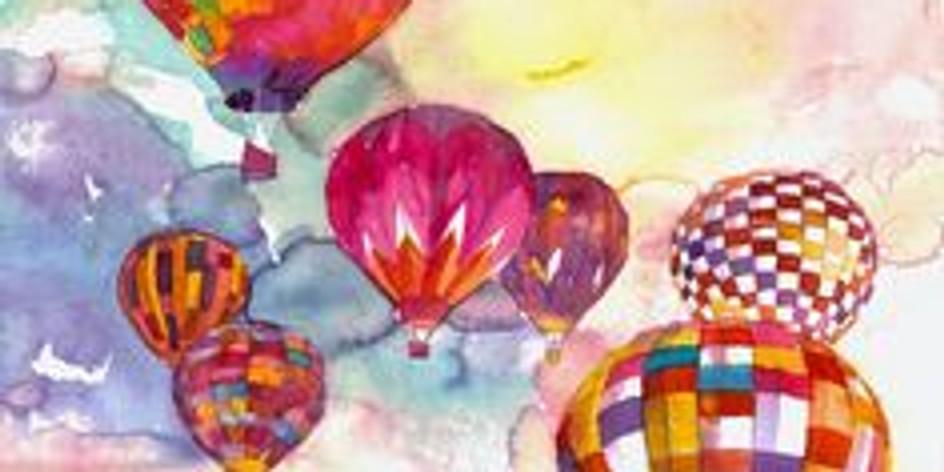 ZOOM RECORDING Children's Art Webinar 'Hot Air Balloons'
