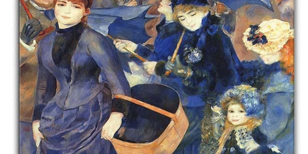 Children's Art Webinar 'Renoir Umbrellas'
