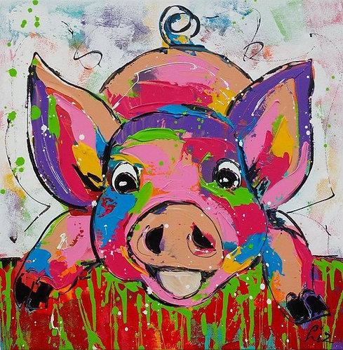Children's Art Webinar 'Patchwork Pig'