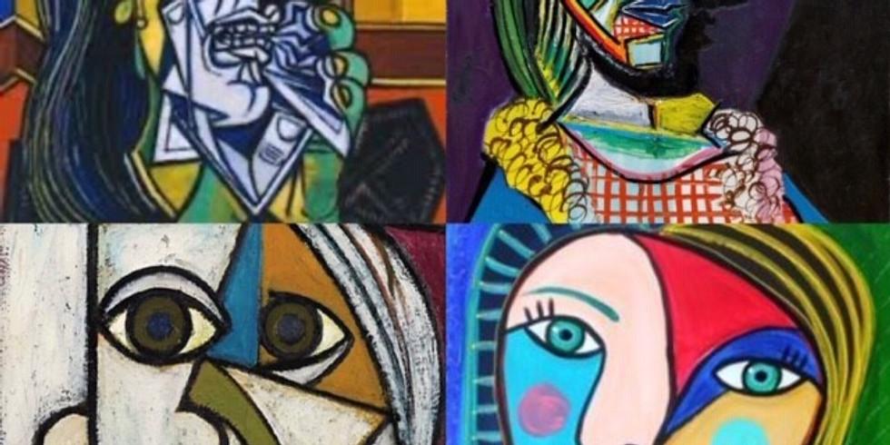 Children's Art Webinar Picasso Portrait