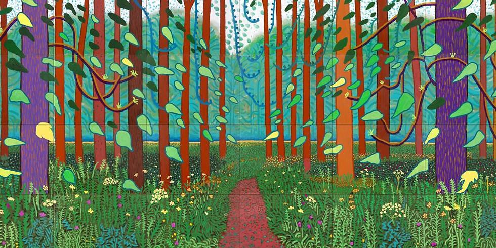 Children's Art Webinar David Hockney's Landscapes