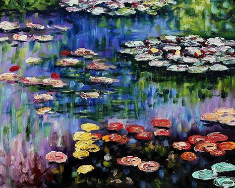 Children's Art Webinar 'Monet Waterlilies'