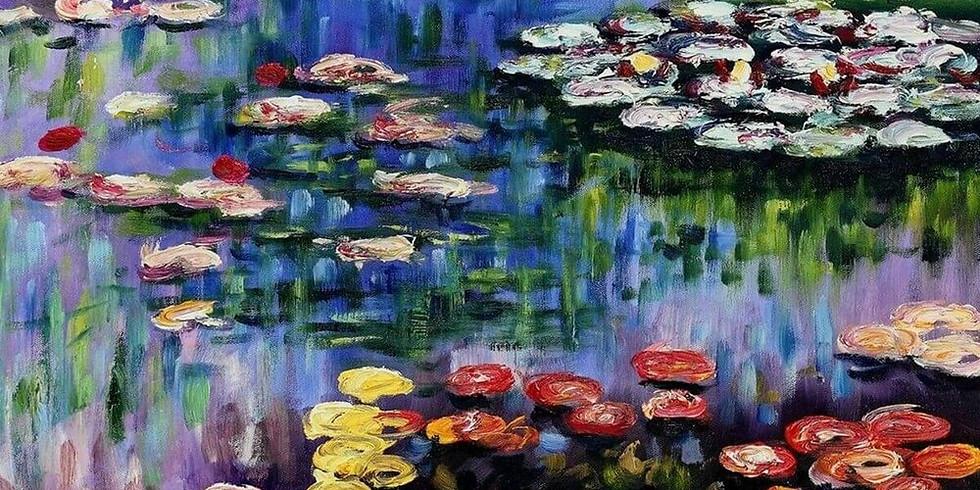 ZOOM RECORDING Children's Art Webinar 'Monet Waterlilies'