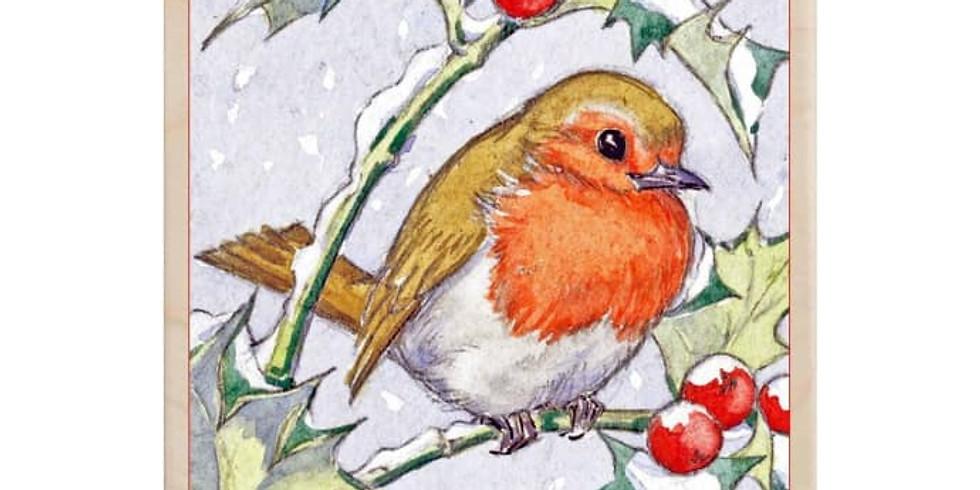 Children's Art Webinar 'Robin'