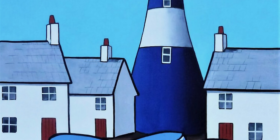 Paint and Sip at Home Art Webinar 'Lighthouse'
