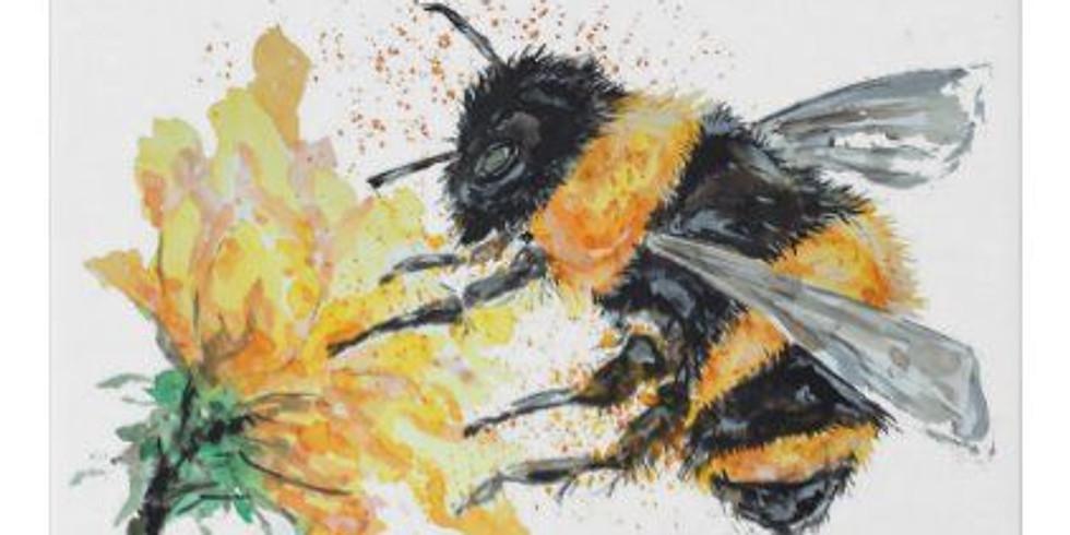 Live Children's Art Webinar 'Honey Bee'