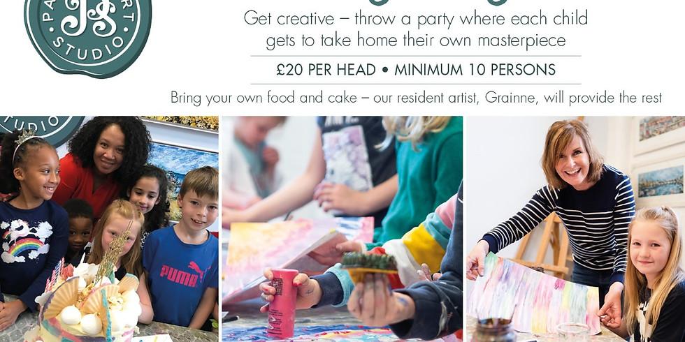 Kid's Art Party