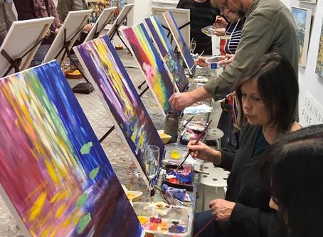 Paint & Sip Evenings