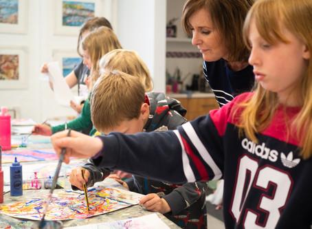 Children's Art Classes @ Papercourt Studio