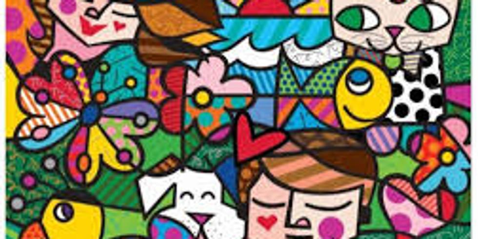 Children's Art Webinar 'Romero Britto Nature in Harmony'