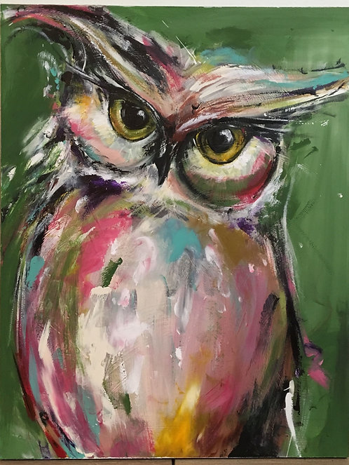 Paint and Sip at Home 'Owl'