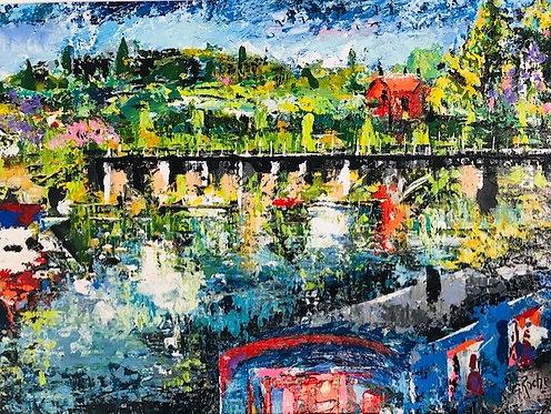 Canal Walk; Ripley, Surrey