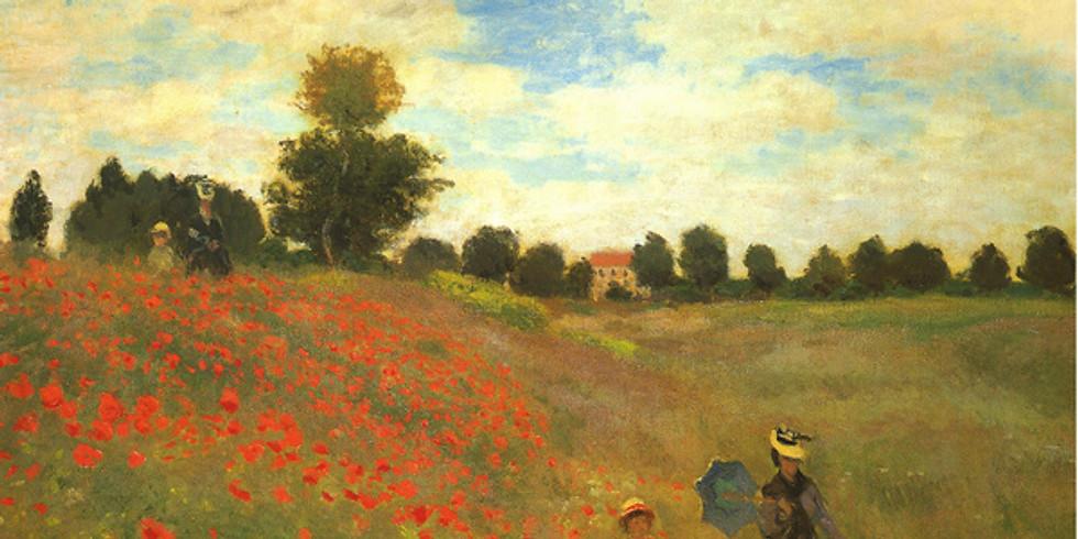 Children's Art Webinar 'Monet Poppy Fields' (1)