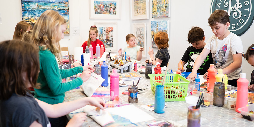 Kids Holiday Art Camps at Papercourt Studio