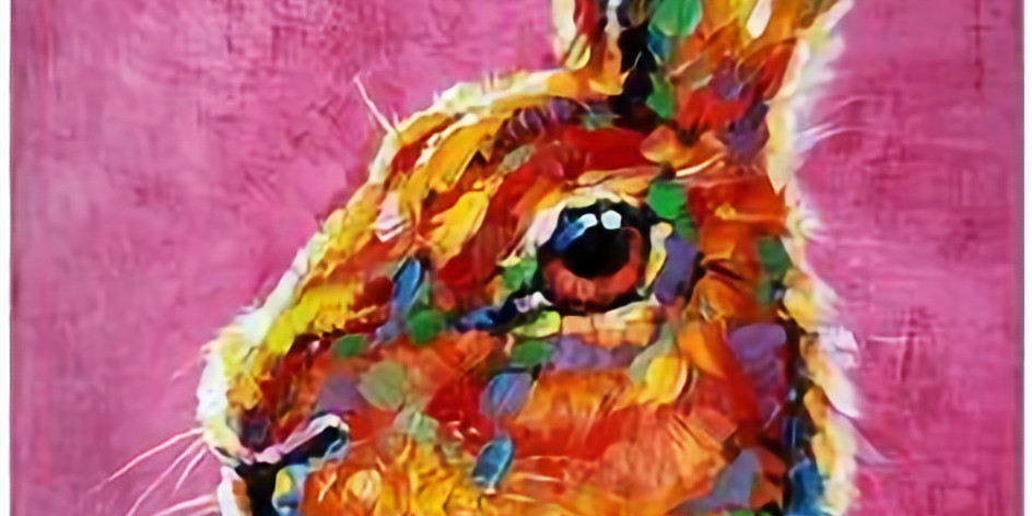 Live Paint and Sip at Home 'Hare'