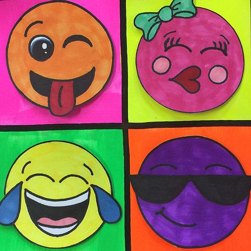 Children's Art Webinar 'Pop Art Emojis'