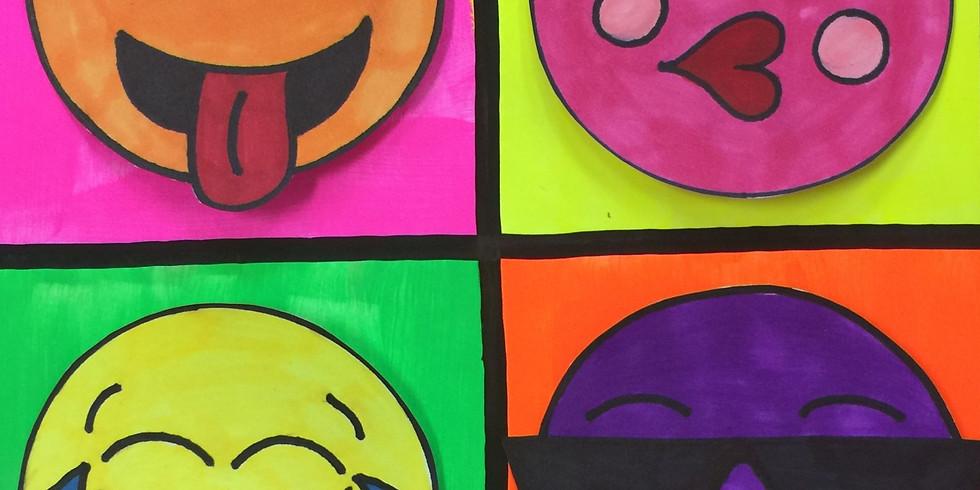 ZOOM RECORDING 'Pop Art Emojis'