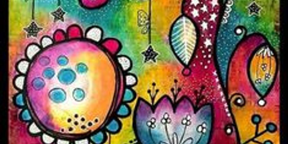 ZOOM RECORDING Children's Art Webinar 'Under World'