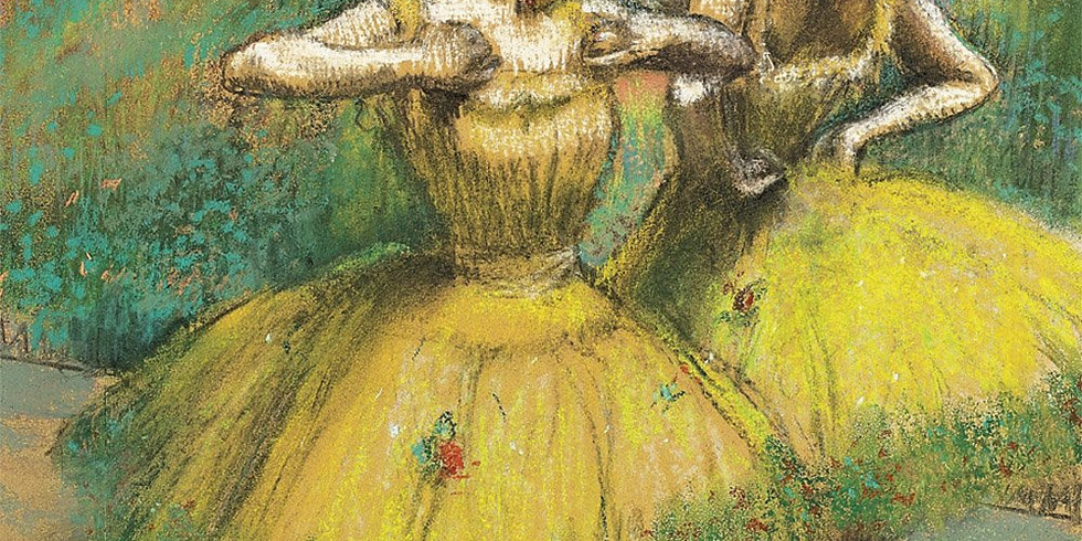 Children's Art Webinar 'Degas Dancers'