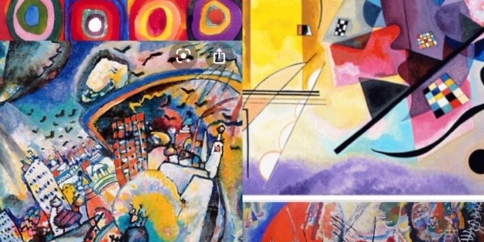 Children's Art Webinar Wassily Kandinsky 'Abstract Art'