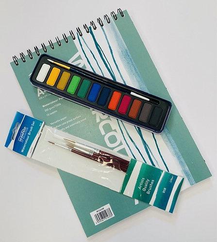 Watercolour Painting Set