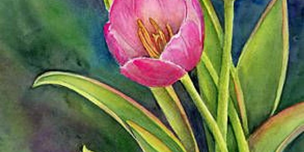 ZOOM RECORDING Children's Art Webinar 'Tulips'