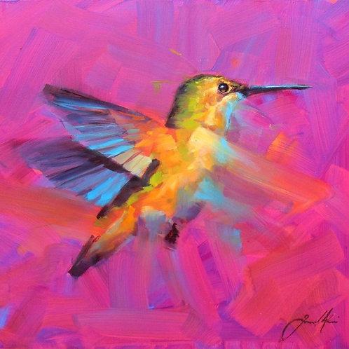 Paint and Sip at Home 'Hummingbird'
