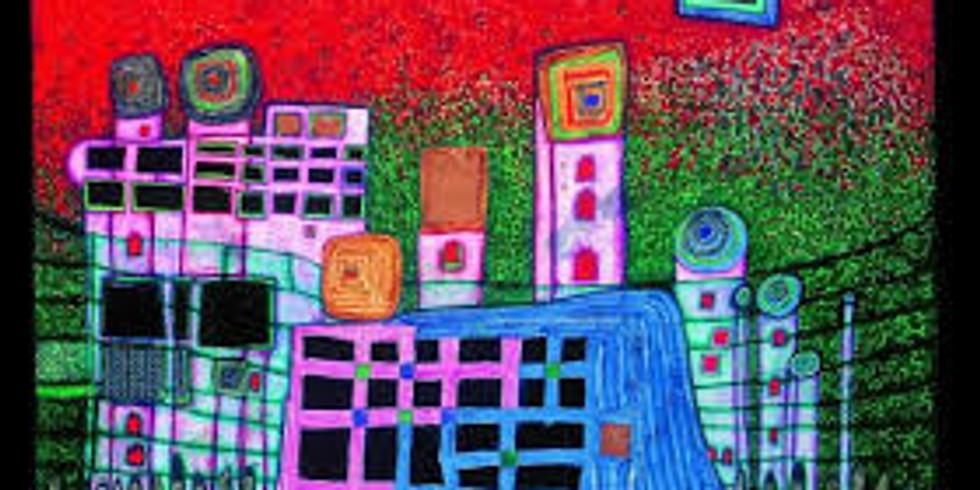 Children's Art Webinar 'Hundertwasser The Spiral of Life'