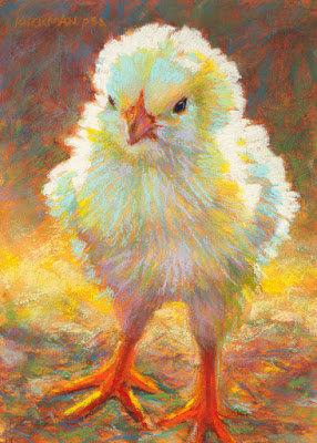 Children's Art Webinar ' Chick'