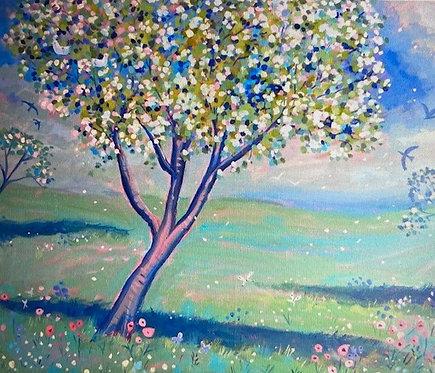 Children's Art Webinar 'Blossom Landscape'