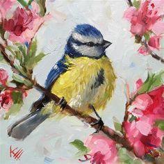 Children's Art Webinar ' Bird on Blossom '