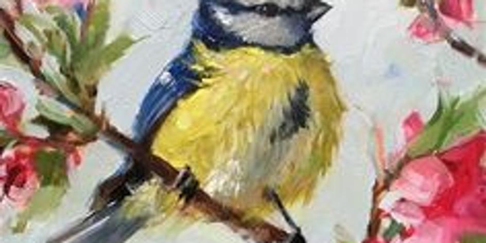ZOOM RECORDING Children's Art Webinar 'Bird on Blossom'