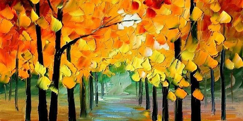 Monday After School Art Club  'Autumn Landscape'