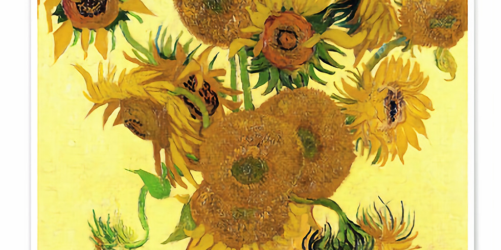 ZOOM RECORDING Children's Art Webinar 'Van Gogh Sunflowers'