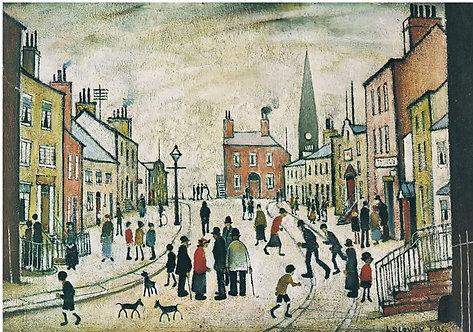 Children's Art Webinar 'LS Lowry A Lancashire Village'