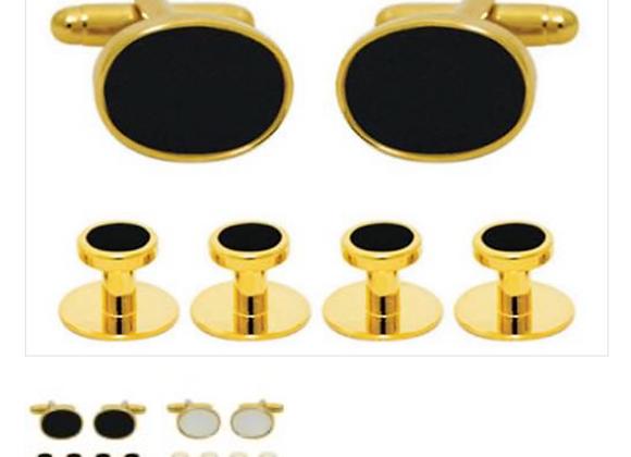 Luxury Cuff & Stud Set