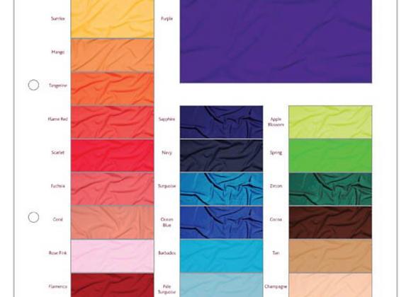 Fabric Sample Cards