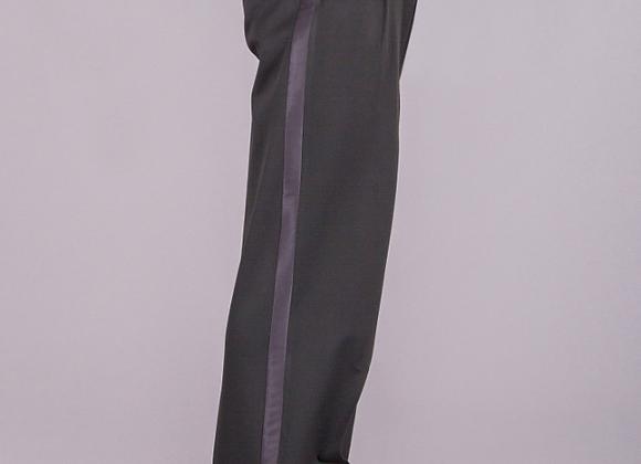 4002 Latin Trouser - Box Pleat with Satin Stripe