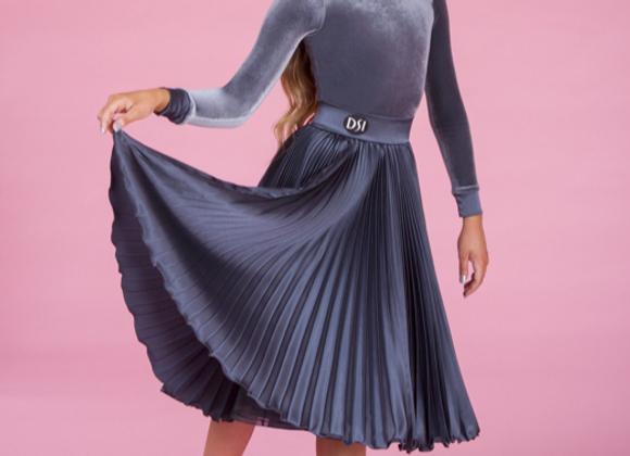 Zeta Pleated Skirt