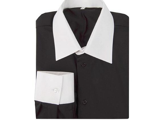 4099 Black & White Practice Shirt