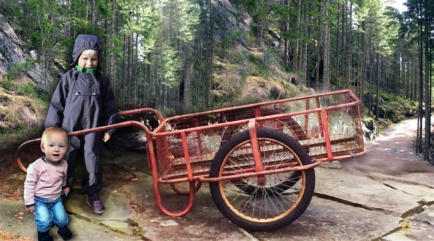 1b. Vognen og Oskar