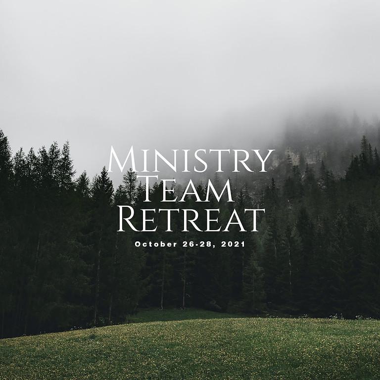 Ministry Team Retreat